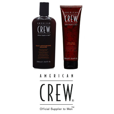 A line of American Crew Products