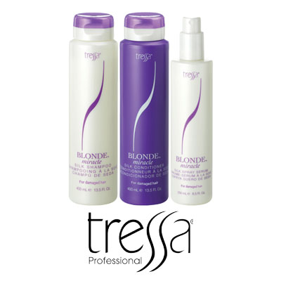 A Line up of all Tressa Professional Products